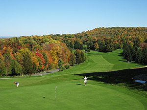 Golf course at Green Lakes State Park, Fayette...