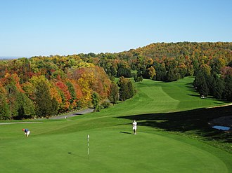 Robert Trent Jones - The golf course at Green Lakes State Park in upstate New York was designed by Robert Trent Jones and opened in 1936.