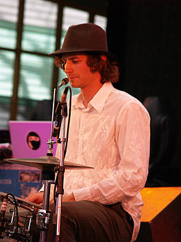 Gotye, Golden Plains Festival Maart 2007.