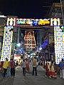 Govindaraja brahmotsavams lightings.jpg