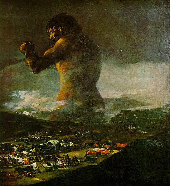 Goya's Colossus