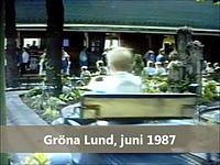 Fil:   Den grønne Lund Gocart, Lilla scenen 1987. webm