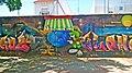 Grafiti artistico en una plaza de Parla.jpg