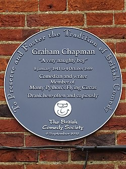 Graham Chapman A very naughty boy 8 January 1941 to 4 October 1989.jpg