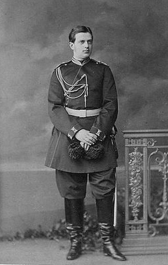 Grand Duke Vladimir Alexandrovich of Russia - Image: Grand Duke Vladimir in his youth