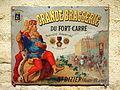 Grande Brasserie du Fort-Carré, St Dizier, enamel sign.JPG