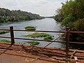 Grande seca de 2014, ponte do Rio Pardo entre Pontal e Cândia (distrito de Pontal). É possível ver o fundo do rio. Em outubro de 2014, o Rio Pardo registrou em Ribeirão Preto a marca de 34 centímet - panoramio (3).jpg