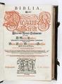 Graverat titelblad till bibel på tyska, från 1641 - Skoklosters slott - 92498.tif