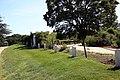 Graves along the east border of the formal flower garden - Arlington House - Arlington National Cemetery - 2012-05-19.jpg