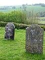 Gravestones, The Church of St Mary Magdalene (geograph 1907080).jpg