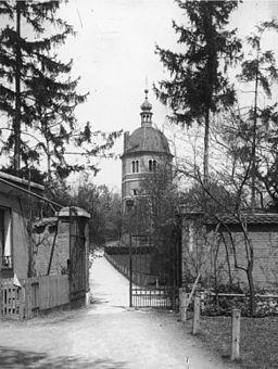 Graz, Schlossberg, Lislturm vor der Kanonenhütte - 1916