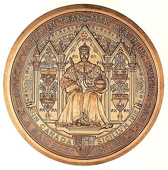 Great Seal of Canada - Image: Great Seal of Canada King George V