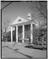 Greenbrier County Courthouse, Randolph and Market Streets, Lewisburg, Greenbrier County, WV HABS WVA,13-LEWBU,2-2.tif