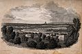 Greenwich, with London in the distance. Engraving by E. Find Wellcome V0013249.jpg