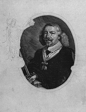 Gregers Krabbe - Gregers Krabbe, engraving by H.A. Greys