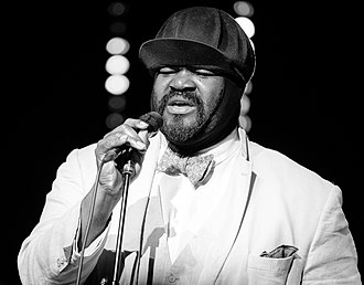 Gregory Porter - Porter performing at the 2018 Kongsberg Jazzfestival