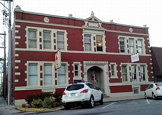 National Register of Historic Places listings in Adair County, Missouri - Image: Grim Building Kirksville Mo