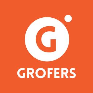 Grofers - Image: Grofers Logo orange