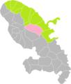 Gros-Morne (Martinique) dans son Arrondissement.png