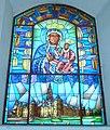 Grzędy, kościół filialny pw. św. Jadwigi - witraż.jpg