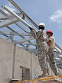 Guard Soldier preps for first deployment during New Horizons 140513-F-EE220-003.jpg