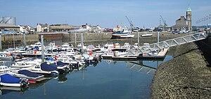 Saint Sampson, Guernsey - Image: Guernsey July 2011 276, Saint Sampson harbour
