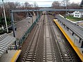 Guilford station facing west from bridge, December 2015.JPG