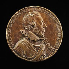 Henri II de Bourbon, 1588-1646, 3rd Prince of Condé, first Prince of the Blood [obverse]