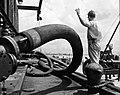 Gulf Oil Corp., Marine Dept. Dock Hose (8430971468).jpg