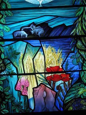 Gullane - Gullane church window