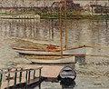 Gustave Caillebotte - Voiliers au Mouillage sur la Seine, à Argenteuil.jpg