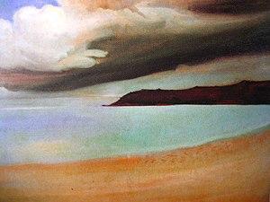 Gustaw Gwozdecki - Image: Gwozdecki Brzeg morski w Bretanii,1905