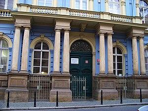 Jan Neruda Grammar School - Main building of the school