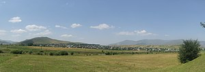 Panorama of Gyulagarak from near Hobardzi
