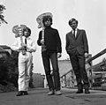 Három férfi, 1966. Fortepan 15593.jpg