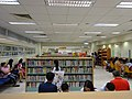 HK 元朗政府合署 Yuen Long Government Offices 公共圖書館 Public Library interior June 2016 DSC 001 visitors.jpg