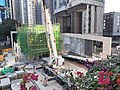 HK 港島東區 Eastern 炮台山 Fortress Hill footbridge view 電器道 Electric Road 福元街 Fuk Yuen Street January 2021 SS2 14.jpg