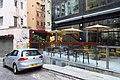 HK SW 上環新街 No 5-13 Sheung Wan New Street Universal Building sidewalk shop 共用工作空間 Naked Hub coworking restaurant outdoor April 2018 IX2.jpg