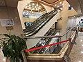 HK SW 上環 Sheung Wan 德輔道中 340 Des Voeux Road Central 華泰商業大廈 Hua Qin International Building mall interior escalators October 2019 SS2 03.jpg