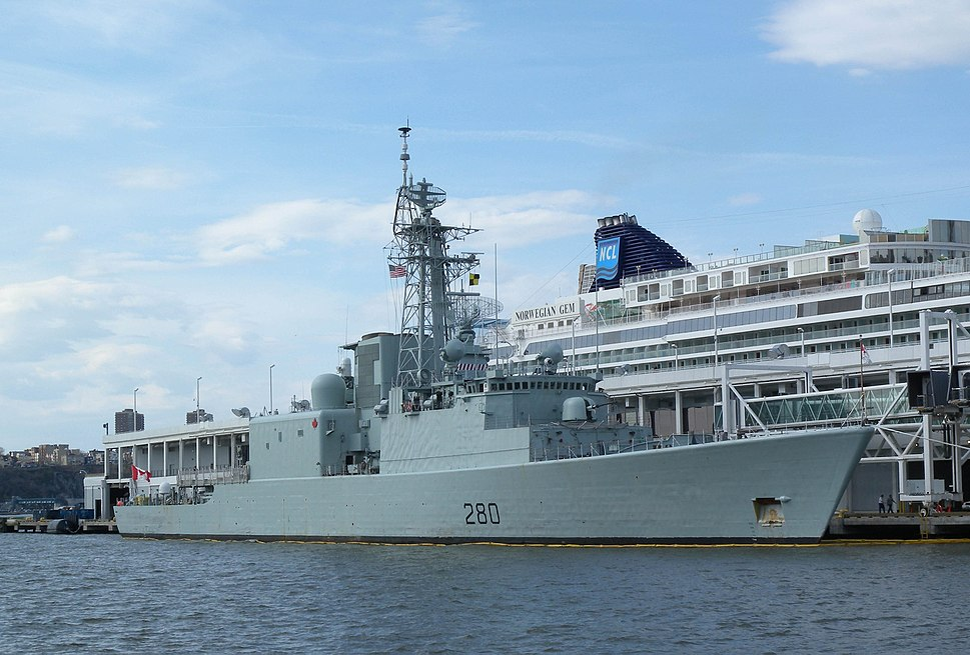 HMCS Iroquois NRP 88 jeh
