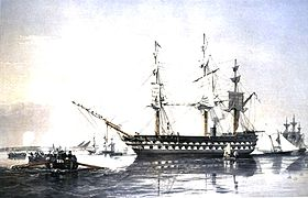 Image illustrative de l'article HMS Agamemnon (1852)