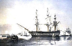 HMS Agamemnon (1852) - HMS Agamemnon