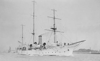 Battle of Amara - HMS ''Espiegle'', which served as Townshend's headquarters during the first half of the battle.
