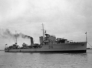 HMS <i>Ivanhoe</i> (D16) ship