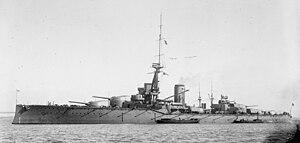 HMS Monarch (1911) - Image: HMS Monarch LOC ggbain 16828