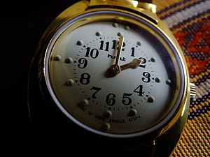 HMT (company) - HMT Braille watch for visually impaired