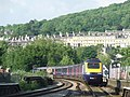 HST approaching Bath Spa - geograph.org.uk - 1748423.jpg