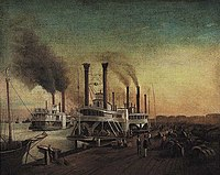 HVV Sebron Study for Giant Steamboats at the Sugar Landing.jpg