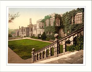George Vernon (MP for Derby and Derbyshire) - Haddon Hall, the home of the Vernons in Derbyshire