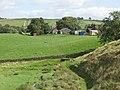 Hadrian's Wall Path west of Wallend Farm - geograph.org.uk - 1552815.jpg